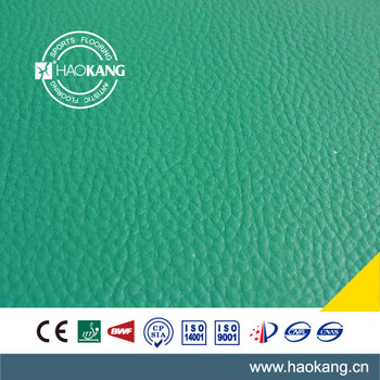 Indoor Badminton Court PVC Sports Flooring, PVC Floor Mat