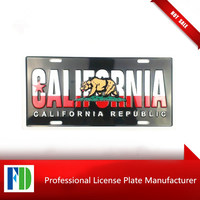 california advertising name board,manufacture armed forces motorcycle license plate