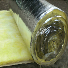 Glass wool blanket for hvac insulation material