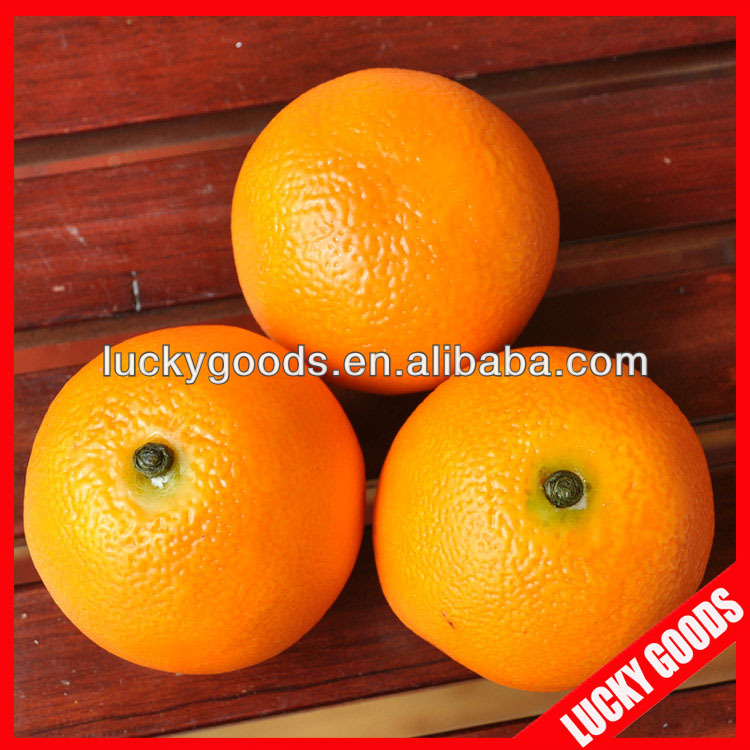 real looking artificial orange artificial fruits wholesale for home docoration