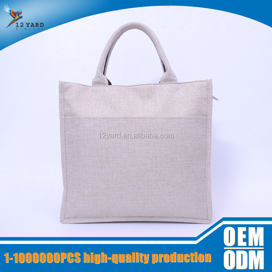 Printed Fashion Cotton Customized Canvas Foldable Shopping Utility Tote Bag