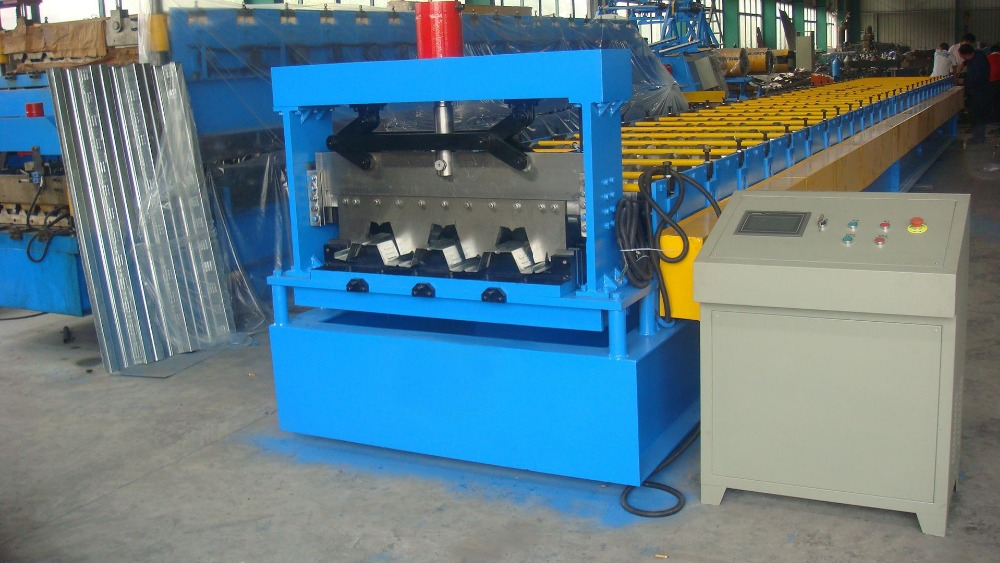 New product roof sheet steel decking machine