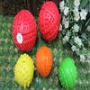 red white blue rubber ball,children hollow rubber ball,mini football rubber ball