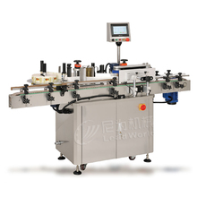 Stainless steel domed label sticker machine
