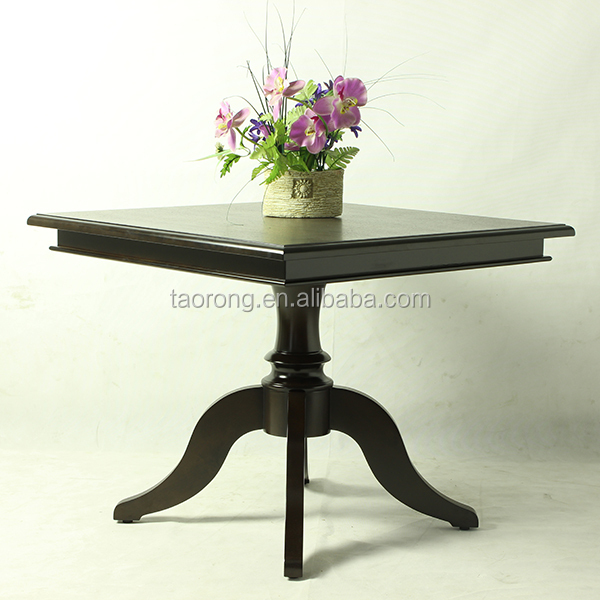 Customized Restaurant Wooden Material Square Shaped Dining Table Buy Square
