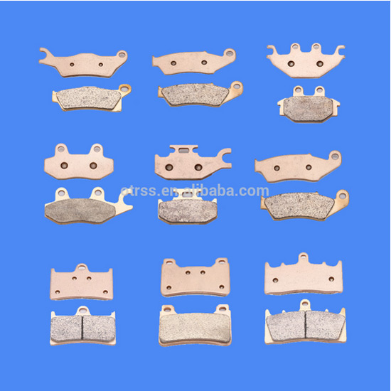 OTRSS golden sintered brake pad pitbike motorcycle parts for atv