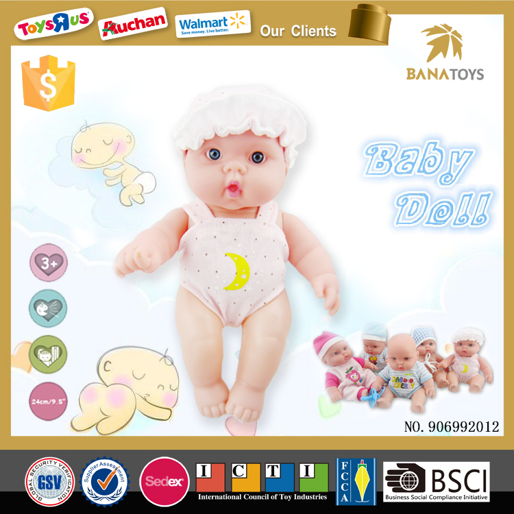 9 inch baby doll full body soft silicone reborn babies for sale