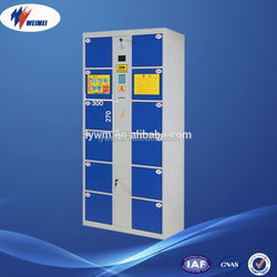 Electronic locks for lockers and New Style steel Locker with 12 door