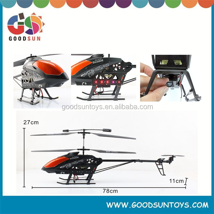 Headless mode 3.5CH high speed remote control gyro helicopter with camera easy to fly HELICOPTER 017429