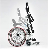 The light stand of the wheelchair