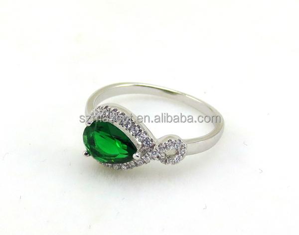 Jewelry Crystal Water Drop Jewelry Set Necklace Earring Ring Set Elegant Jewelry Woman