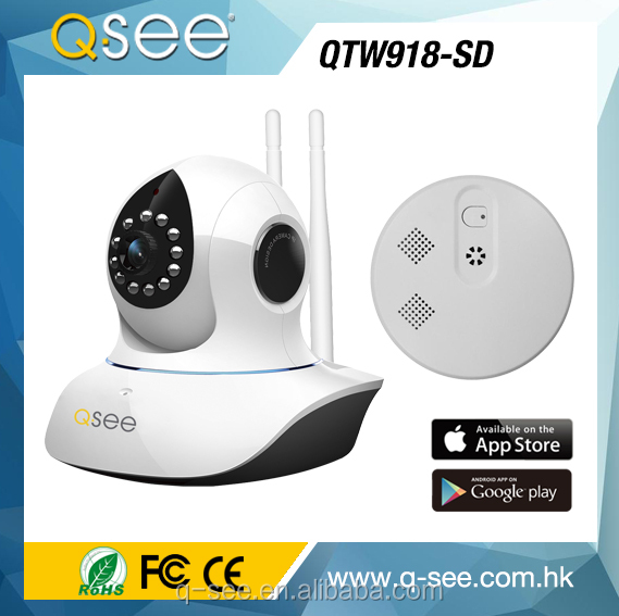 1.0 MP HD smart home wifi IP camera home security system Support 64G TF Cards wireless mini wifi spy camera