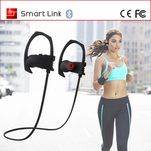 Hot Selling Stereo smart Ear-Hook Bluetooth Headset / Wireless Headphone with Mic