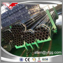 2inch Tianjin Youfa Manufactured ERW Mild Black Steel Pipe /water steel pipe/ construction tube