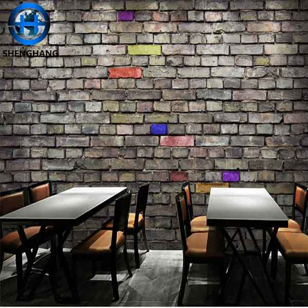 3d brick wallpaper wall art decorative wall paper stone /brick wallpaper waterproof high quality wallpaper