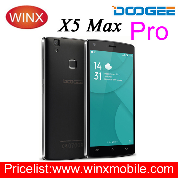 Doogee X5 Max Pro Original 5.0 Inch Android 6.0 2GB/16GB 4000mAh Black/White latest 5g mobile phone