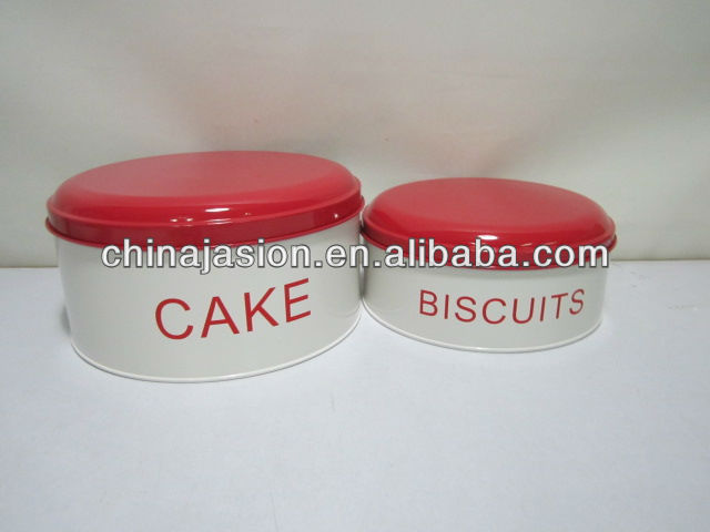 Biscuit and Cracker Tin