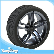 Professional custom product soft silicone rubber toy car tires Dongguan factory