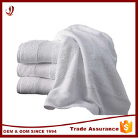 Hotel Product 100% Cotton Material White Hotel Towel