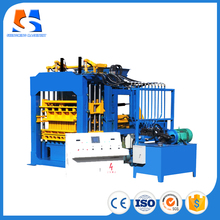 QT10-15 Brick Production Line Processing and Concrete Brick Raw Material block making machine