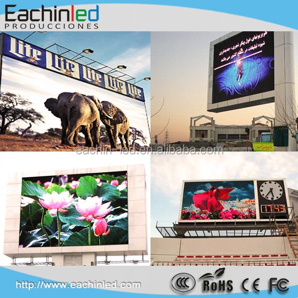 Alibaba P10 advertising led display for mobile food trucks complete