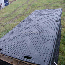 Hot sell plastic ground protection mats/temporary road mats for equipment/trucks/excavating