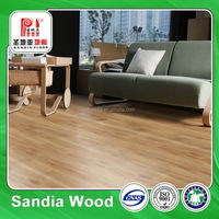 Hand Scraped Imitation Wood Laminated Floor