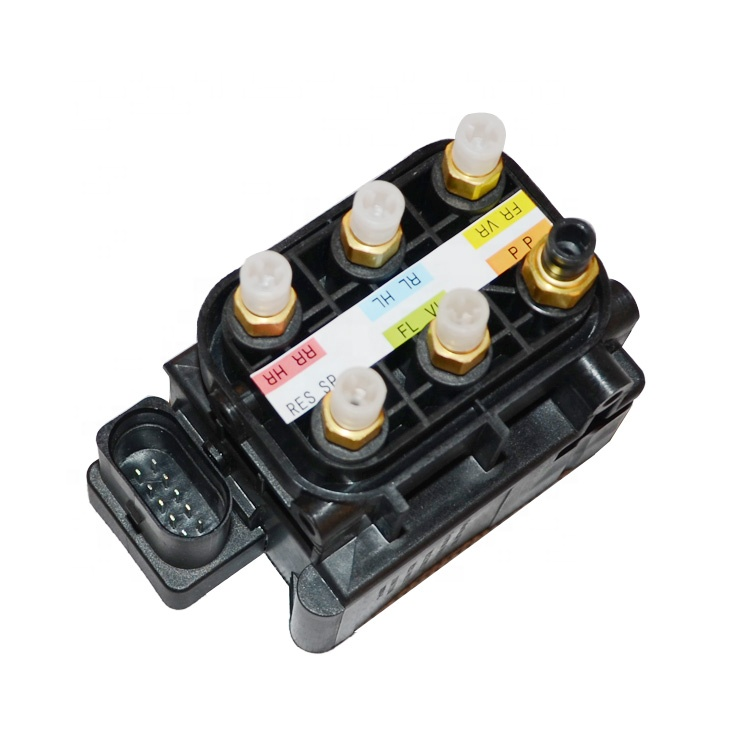 Suspension Solenoid Valve Block OEM A2123200358 A2123200158 A2513200058 for Mercedes W212 W221 W251 <strong>Air</strong> Pump Valves