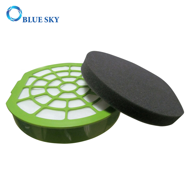 Green Circular HEPA Filter for Vacuum Cleaner