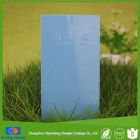 RAL 5024 Pastel Blue Thermoplastic Powder Coating Paint