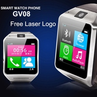 1.5 inch touch screen bluetooth GSM phone call watch mobile tv