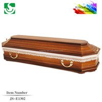 alibaba china coffin nice zinc handles professional lace lining for Russian coffin