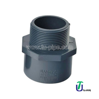 Industrial UPVC Male adapters ASTM SCH 80 (S * BSPT)