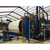 2016 Environment friendly pyrolysis plant CE approved pyrolysis plant