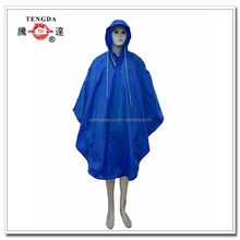 custom new products polyester hoody bike rain ponchos