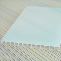 Lexan twin wall polycarbonate panel hollow polycarbonate sheet price