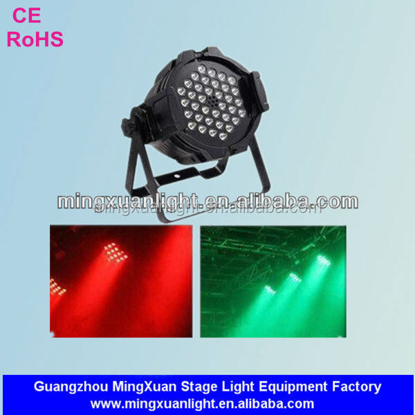 Professional stage lighting RGBW 36x3W led par 64