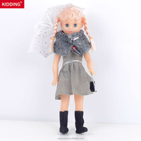 Customized Doll Fashion Beauty Princess Doll Toys With Umbrella And Handbag