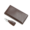 Real Cowhide Leather Long Wallet And