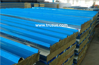 CE&ISO approved Fireproof Wall Partition Polyurethane Sandwich Panels Type