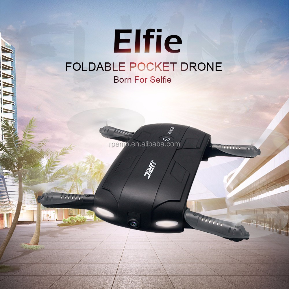 Drone with WIFI FPV 720P HD Camera Foldable G-sensor Mini RC Selfie Drone