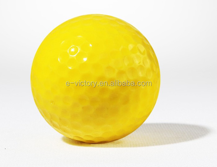 Gift and colorful golf balls Colored Large Golf Ball for Gift