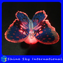 Best Decoration Light Multicolor Fiber Optic Butterfly Light For Night Time/Wedding/Party Decoration