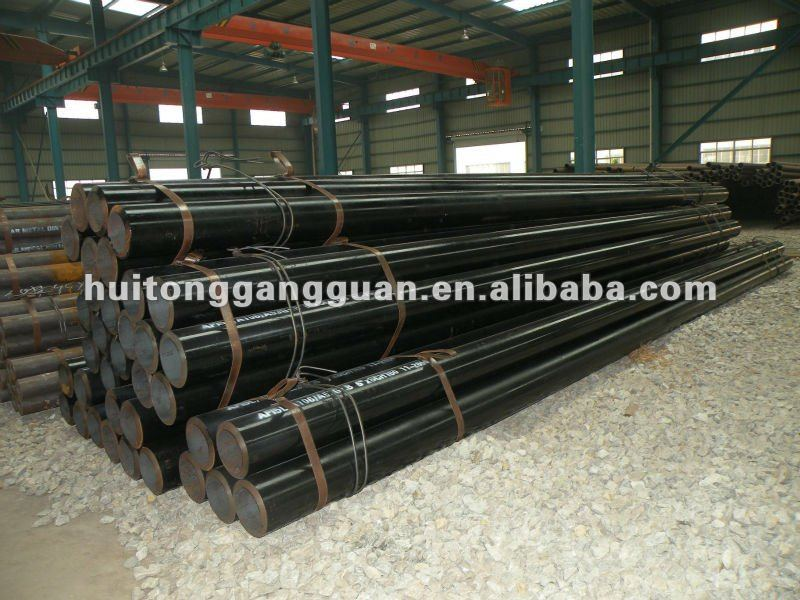 SEAL THE STEEL PIPE FOR GB45# ASTM1045 DIN45 WITH LOW PRICE
