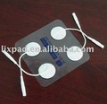 Adhesive electrodes for TENS unit