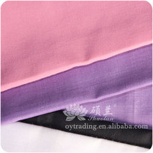 Customized bleached 100 polyester woven fabric for cloth lining