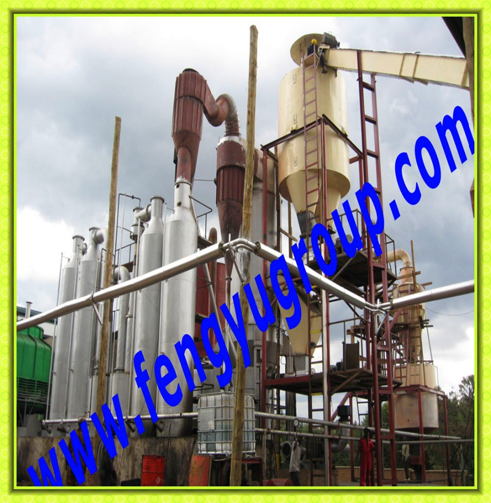 Fengyu 1.2MW biomass gasifier wood chip saw dust power generation plant in Kenya, Africa