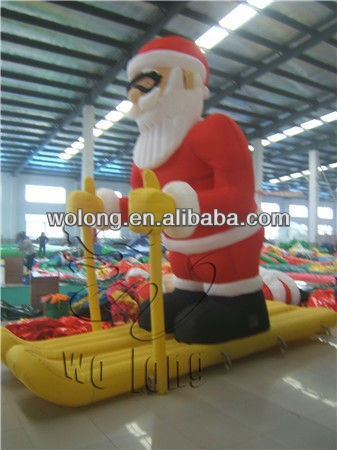 inflatable christmas, inflatables advertising
