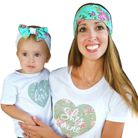 In Stock Wholesale Custom Made Mommy And Me Infant Headbands