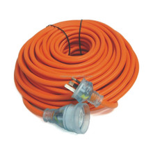 15 amp 250V Heavy Duty transparent australia extension cord